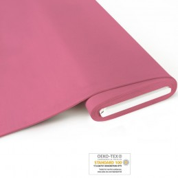 Bio French Terry brushed uni -  rosa - Art-Nr. 1100-450