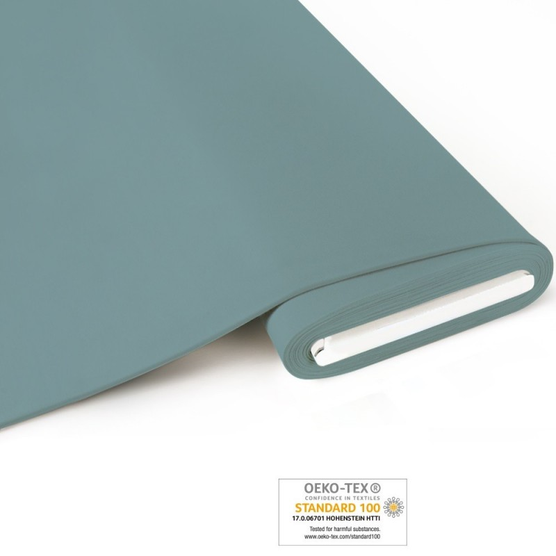 Bio French Terry brushed uni  - frost - Art-Nr. 1100-625