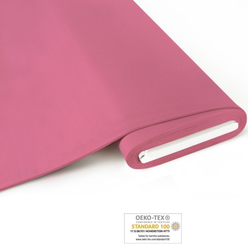 Bio French Terry uni - rosa - Art-Nr. 1200-450