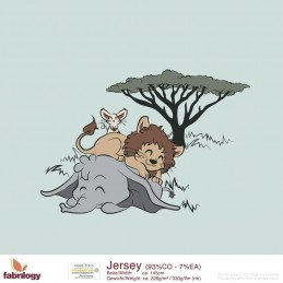 Bio- Jersey - Safari (Panel) - Art-Nr. 2051