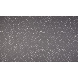 POPELINE MUSTER - DOTS GREY - OR3501-068