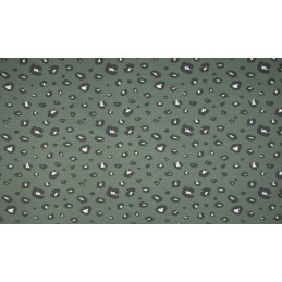ORGANIC FRENCH TERRY - PANTHER DUSTY MINT - OR5503-223