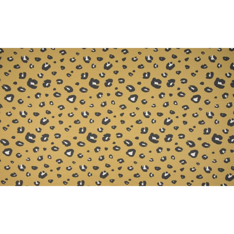 ORGANIC FRENCH TERRY - PANTHER DUSTY YELLOW - OR5503-283
