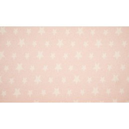 ORGANIC FLEECE JACQUARD - STAR ROSE - OR8002-012