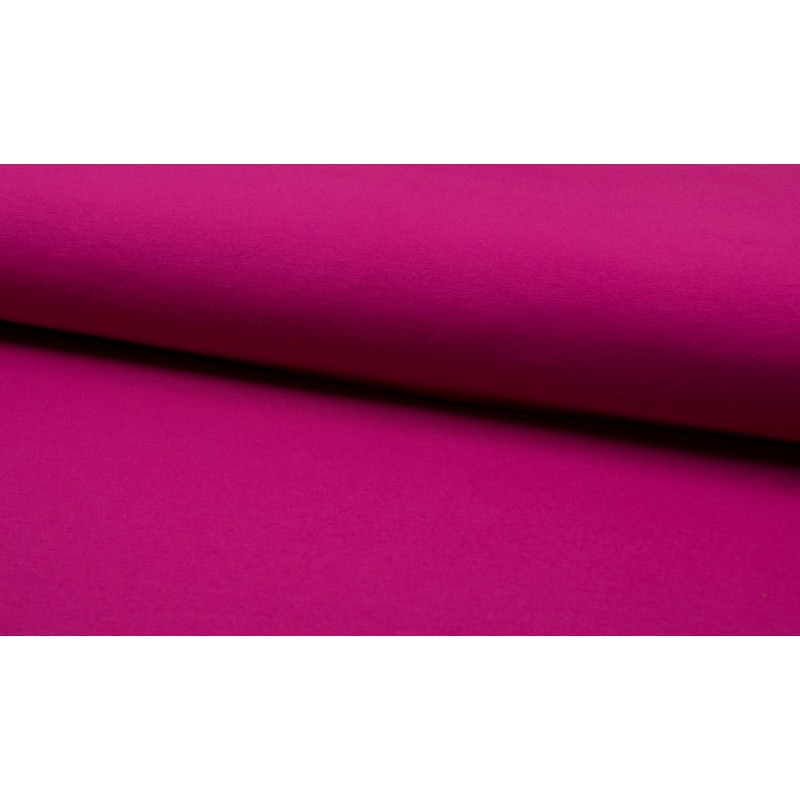 ORGANIC FRENCH TERRY UNI - FUCHSIA - OR5500-017